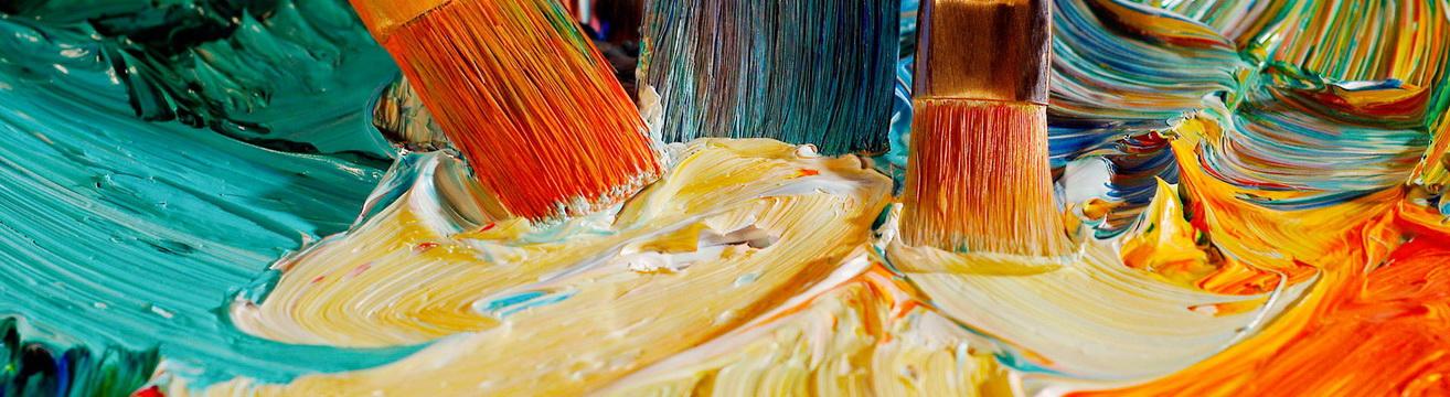 Краски для живописи: виды и способы применения